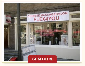 massagesalon gesloten